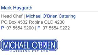 Michael O'Brien Catering